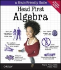 Miniaturebillede af omslaget til Head First Algebra