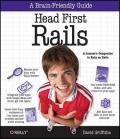Miniaturebillede af omslaget til Head First Rails