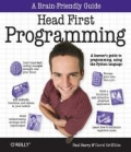 Miniaturebillede af omslaget til Head First Programming