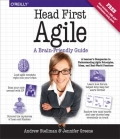 Miniaturebillede af omslaget til Head First Agile