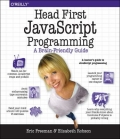 Miniaturebillede af omslaget til Head First JavaScript Programming