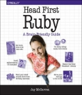 Miniaturebillede af omslaget til Head First Ruby
