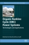 Miniaturebillede af omslaget til Organic Rankine Cycle (ORC) Power Systems