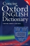 Miniaturebillede af omslaget til Concise Oxford English Dictionary