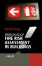 Miniaturebillede af omslaget til Principles of Fire Risk Assessment in Buildings
