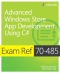 Miniaturebillede af omslaget til Exam Ref 70-485: Advanced Windows Store App Development Using C#