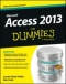 Miniaturebillede af omslaget til Access 2013 for Dummies
