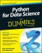 Miniaturebillede af omslaget til Python for Data Science for Dummies