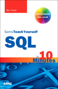 SQL in 10 Minutes, Sams Teach Yourself, 4. udgave