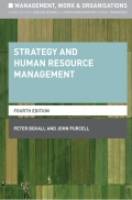 Strategy and Human Resource Management, 4. udgave