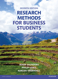 Research Methods for Business Students, 7. udgave