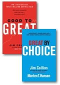 Good to great + Great by Choice value bundle