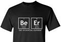 miniaturebillede af omslaget til T-shirt Beer Element - Men S Black