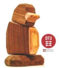 DTU Fablewood The Baby Penguin (Small) Magnetic Wooden Animals - Create. Display. Explore. Assemble. Play.
