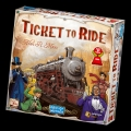 miniaturebillede af omslaget til Ticket to Ride Boardgame - USA