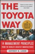 miniaturebillede af omslaget til The Toyota Way - 14 Management Principles from the World's Greatest Manufacturer