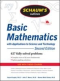 Schaum's Outline of Basic Mathematics with Applications to Science and Technology, 2ed, 2. udgave
