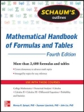 miniaturebillede af omslaget til Mathematical Handbook of Formulas and Tables, 4. udgave