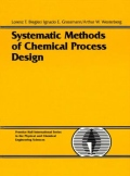 miniaturebillede af omslaget til Systematic Methods of Chemical Process Design