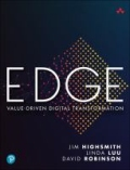 miniaturebillede af omslaget til Edge - Leading Your Digital Transformation with Value Driven Portfolio Management, 1. udgave