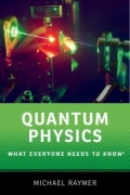 miniaturebillede af omslaget til Quantum Physics - What Everyone Needs to Know