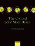 miniaturebillede af omslaget til The Oxford Solid State Basics