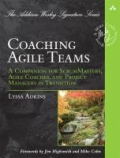 miniaturebillede af omslaget til Coaching Agile Teams