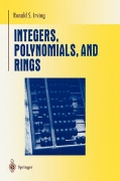 miniaturebillede af omslaget til Integers, Polynomials, and Rings - A Course in Algebra, 1. udgave