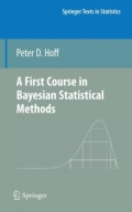 miniaturebillede af omslaget til A First Course in Bayesian Statistical Methods, 1. udgave
