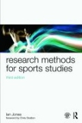 miniaturebillede af omslaget til Research Methods for Sports Studies - 3rd Edition, 3. udgave