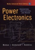miniaturebillede af omslaget til Power Electronics - Converters, Applications, and Design
