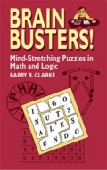 miniaturebillede af omslaget til Brain Busters! - Mind-Stretching Puzzles in Math and Logic