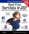 miniaturebillede af omslaget til Head First Servlets and JSP - Passing the Sun Certified Web Component Developer Exam, 2. udgave