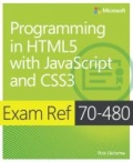miniaturebillede af omslaget til Exam Ref 70-480: Programming in HTML5 with JavaScript and CSS3