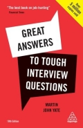 miniaturebillede af omslaget til Great Answers to Tough Interview Questions, 10. udgave