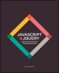 miniaturebillede af omslaget til JavaScript and JQuery - Interactive Front-End Web Development