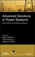 miniaturebillede af omslaget til Advanced Solutions in Power Systems - HVDC, FACTS, and AI Techniques