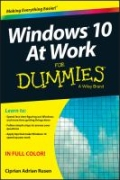miniaturebillede af omslaget til Windows 10 at Work for Dummies