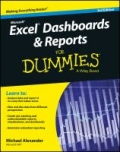 miniaturebillede af omslaget til Excel Dashboards and Reports for Dummies, 3. udgave