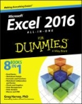 miniaturebillede af omslaget til Excel® 2016 All-in-One for Dummies®