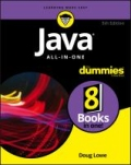 miniaturebillede af omslaget til Java All-in-One for Dummies