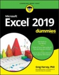 miniaturebillede af omslaget til Excel 2019 for Dummies