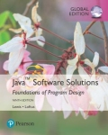 miniaturebillede af omslaget til Java Software Solutions, Global Edition, 9. udgave