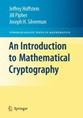 miniaturebillede af omslaget til An Introduction to Mathematical Cryptography, 1. udgave
