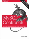 miniaturebillede af omslaget til MySQL Cookbook - Solutions for Database Developers and Administrators, 3. udgave