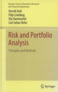 miniaturebillede af omslaget til Risk and Portfolio Analysis - Principles and Methods, 1. udgave