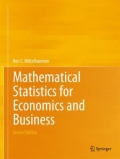 miniaturebillede af omslaget til Mathematical Statistics for Economics and Business, 2. udgave