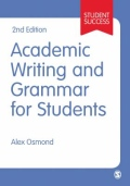 miniaturebillede af omslaget til Academic Writing and Grammar for Students, 2. udgave