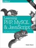 miniaturebillede af omslaget til Learning PHP, MySQL and JavaScript - With JQuery, CSS and HTML5