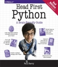 miniaturebillede af omslaget til Head First Python - A Brain-Friendly Guide, 2. udgave